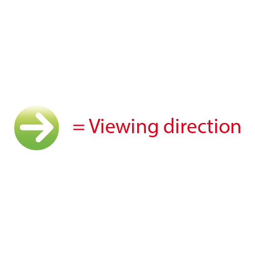 Viewing direction