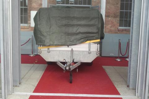 The red carpet was laid out for us! :-)